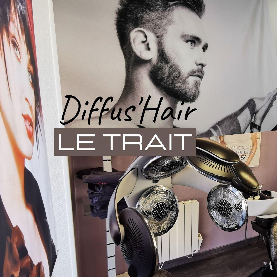 DIFFUS'HAIR LE TRAIT LE SALON DE COIFFURE