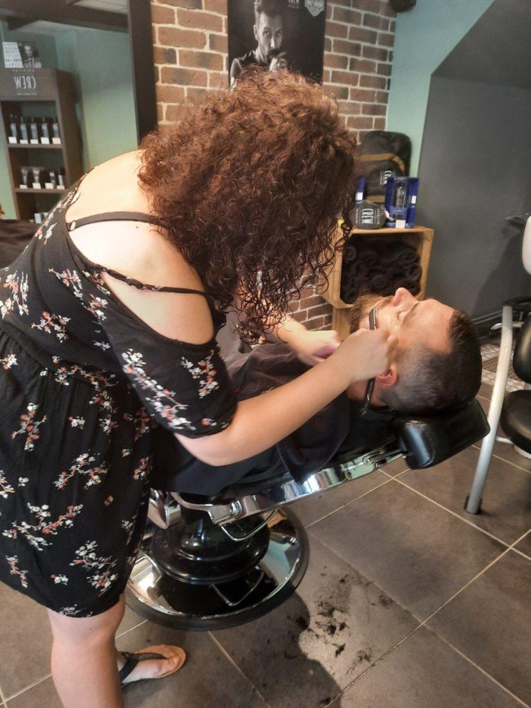 Barber Shop Diffus'hair, taille de la barbe